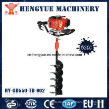 52cc Benzin-Bodenbohrer-Erdbohrer-Maschine