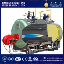 Factory direct Vertical 30-300kg / hr Gas Fired Steam Boiler Price
