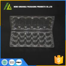 18 caixas de ovos de codorna de plástico