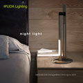 IPUDA Lighting rechargeable battery led night lighting lamp for home bedside table lamps