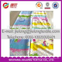 Tela de algodón de la materia textil de la tela de algodón del bonito 100 del nuevo diseño de 2014 maneras hecha en China