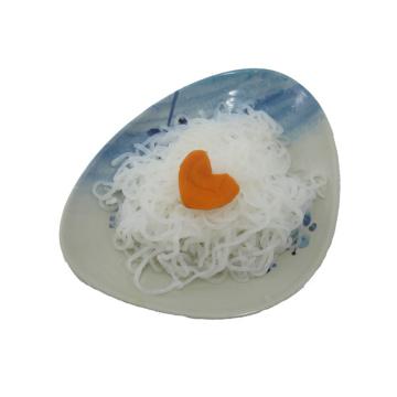 Низкокалорийные продукты быстрого приготовления Коньяку макаронные изделия Коньячная лапша Shirataki Angel Hair Noodles