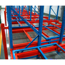 Warehouse Storage Equipment Steel Q235 Push Back Racking