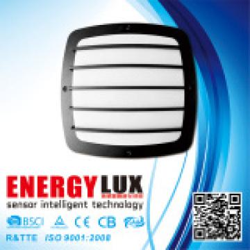 E-L02D Alumbrado de aluminio llevó la luz de techo al aire libre con el sensor