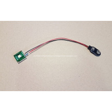 Светодиодный мигающий модуль для всплывающего дисплея, светодиодный указатель поворота, индикаторная лампа, одиночный свет с разъемом держателя батареи