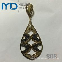 Großhandelsart und weise coppery mit Filigran geschmückte Ohrringe mit mehrfachen eleganten Entwürfen