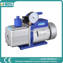 1 HP 10.0 CFM Double Stage General Electric Vacuum Pump with Gauge