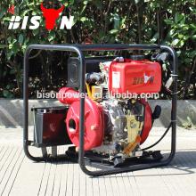 BISON Chine Taizhou Pompe à piston centrifuge à haute pression de 2 pouces, pompe à eau diesel Honda