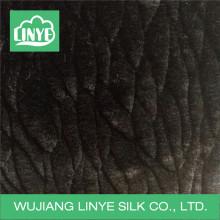 Tela caliente de la piel del faforro del paño grueso y suave para la capa de la manta / del invierno