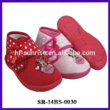 Toddler soft leather baby shoe