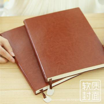 Soft Cover PU Leder Tagebuch