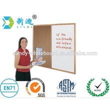 WHITEBOARD FABRIC NATURAL CORK