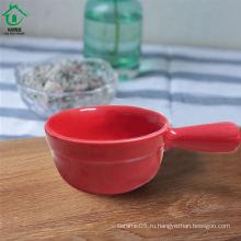 Небольшие разновидности цветных керамических блюдцевых чаш