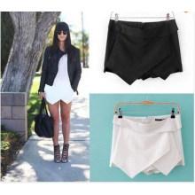 Mulheres quentes sexy shorts envoltório mini-saias culottes calças (sr8235)
