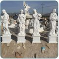 Four Seasons Marble Statues for Garden Decoration