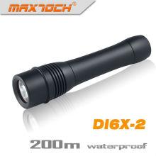Maxtoch DI6X-2 2 * 26650 batterie plus longue durée étanche LED plongée sous-marine