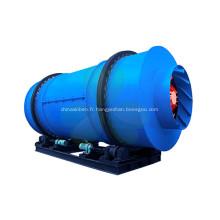 Séchoir à tambour à trois cylindres de conception professionnelle pour boues