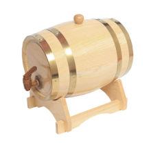 5L Barriles de roble Barriles de madera Barriles de vino para almacenamiento Envejecimiento Vino Whisky Licores