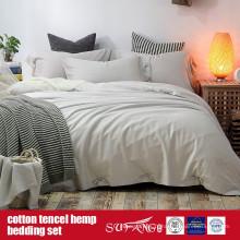 Coton Lyocell Chanvre Blended Sheet Set Vente directe en usine