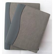 Personalizada Organizer PU Folder (LD0006) Metal Ring Diary Cover