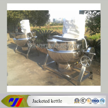 Cooking Jacket Kettle with Mixer