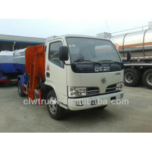 Dongfeng 5M3 hang dustbin garbage truck