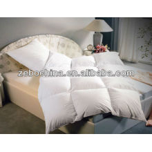 Hot selling different filling material available hotel wholesale quilts
