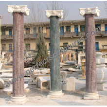 Roman Column Pillar with Stone Marble Sandstone Granite (QCM119)
