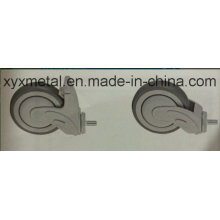 America Single Ball Bearing Plastic TPR Medical Caster