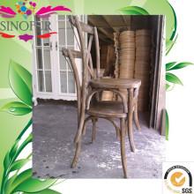 Cadeira de cruzada de venda quente em carvalho