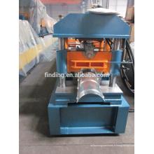 acier inoxydable toiture ridge cap rouleau machine prix/machine de formage faire faîtage de toiture en acier de Chine fournisseur