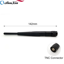 3dBi 2.4G 5G Wifi Dual Band Minodirectional Rubber Duck Antenna With TNC Male Connector