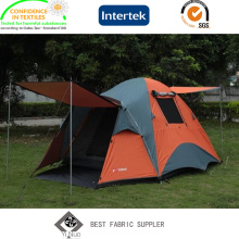Polyurethane Coated 100% Polyester Taffeta Tent Fabric with Wateproof