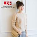 2017 New genuine mink customized oversize rabbit wool yarnwomen pure cashmere pullovers sweater