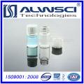 10ML Klarglas-Durchstechflasche mit weißer PP-Deckel HPLC / GC-Durchstechflasche