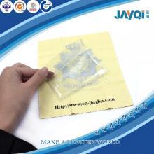 White Logo Micro Fiber Lens Cleaning Cloth