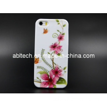 Custom Soft Printing TPU Cell Phone Case for iPhone 5
