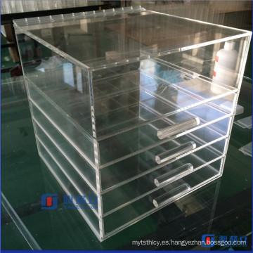 Caja de la vanidad de acrílico del mejor servicio de la alta calidad