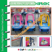 funny design child shopping cart for large shopping mall