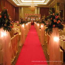 Nonwoven Polyester Red Wedding Carpet