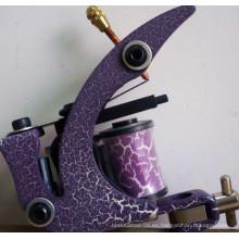 Nuevo diseño carbono acero 8 Wrap bobinas tatuaje ametralladora Shader línea