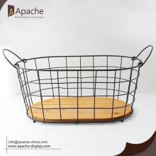 Metal Bakery Bread Wire Basket Set