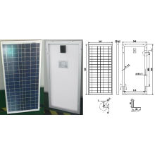 18V 30W Poly Crystalline Solar Panel PV Module with Ce TUV ISO Approved