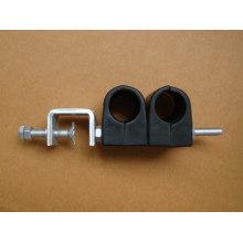 Fibra óptica y abrazadera de cable de 10 mm
