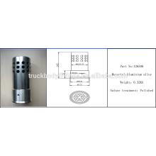 Anti theft tractor fuel tank cap