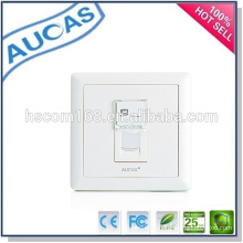 Systimax FTTH uma placa de fibra de porta / hot vender fábrica de china UK faceplate / single port poeira-prova faceplate /