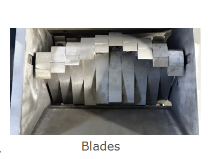 Plastic Crusher Claw Blades