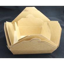 Boîte de papier Noodle Box Boîte de papier Kraft poulet frit