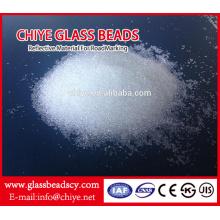 Grânulos de vidro de sopro para máquina de jateamento de areia