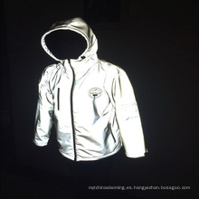 chaqueta de seguridad reflexiva impermeable de la chaqueta de la ropa de la seguridad de la protección de la alta visibilidad